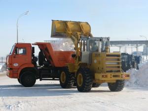Уборка снега в Пензе